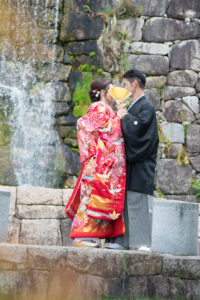 名古屋で人気の安い和装ロケーションフォト