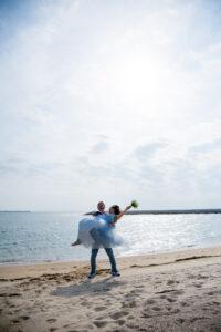 人気ランキング上位のビーチフォト名古屋のロケーション前撮り