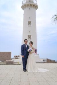 人気の野間灯台野間崎灯台でビーチロケーションフォト