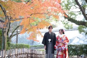紅葉の和装ロケーション前撮り人気の名古屋城がランキングイン