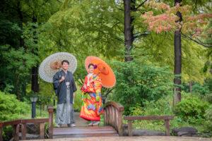 久屋大通庭園フラリエで名古屋和装前撮り