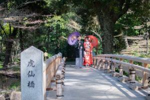 名古屋で和装ロケーションフォト前撮りランキング上位は徳川園